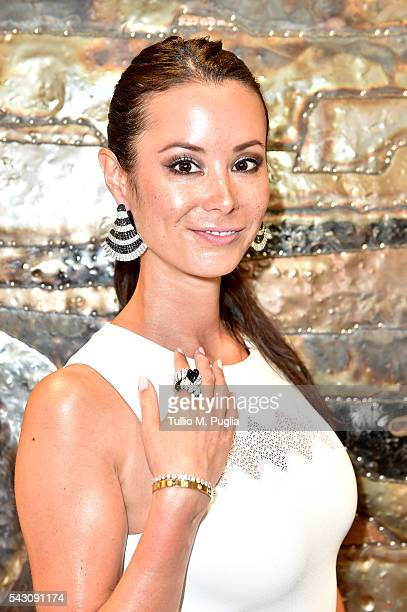 Stephanie Desmond attends the Gala Dinner during The Costa Smeralda Invitational golf tournament at Pevero Golf Club Costa Smeralda on June 25 2016...