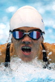 Stephanie Douard of France competes in the Women's 200m Individual Medley SM11 final on day 10 of the London 2012 Paralympic Games at Aquatics Centre...