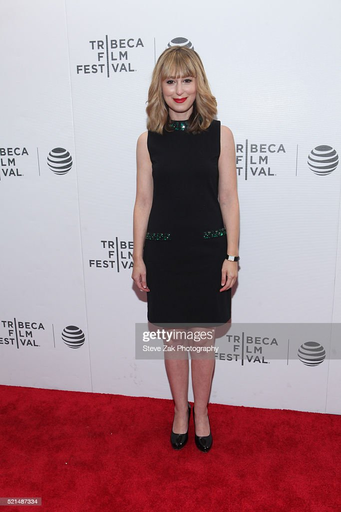 Stephanie Drake attends 'Fear, Inc.' premiere during 2016 Tribeca Film Festival at Regal Battery Park 11 on April 15, 2016 in New York City.