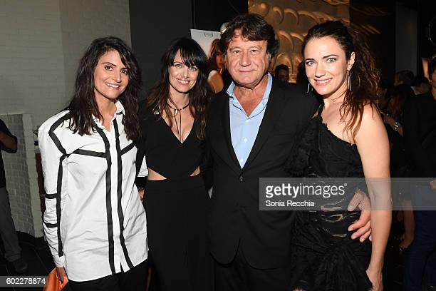 Stephanie Fabrizi Melissa Coghlan Robert Lantos and April Mullen attend the film premiere after party for Serendipity Point Films' 'Below Her Mouth'...