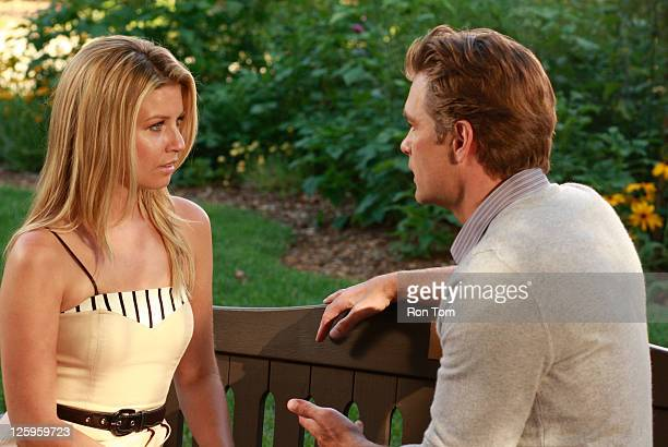 CHILDREN Stephanie Gatschet and Daniel Cosgrove in a scene that airs the week of September 19 2011 on ABC Daytime's 'All My Children' 'All My...