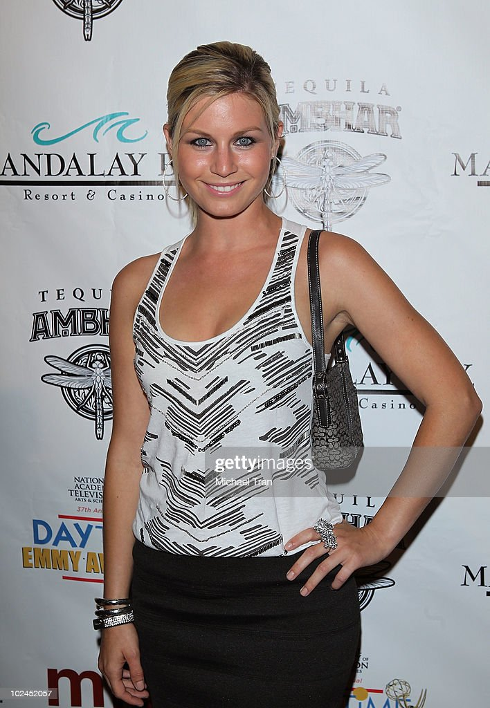 Stephanie Gatschet arrives to the 2010 Daytime Emmy Awards Official Pre-Party held at miX Lounge - THEhotel at Mandalay Bay on June 26, 2010 in Las Vegas, Nevada.