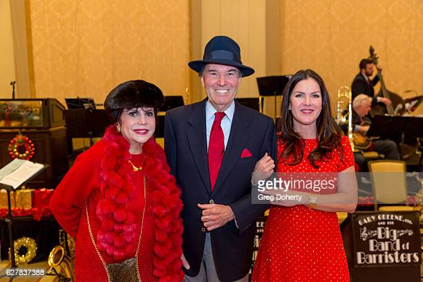 Stephanie Hibler Gary Green and Kira Reed Lorsch attend The Thalians Presidents Club's 'Holiday Brunch Spectacular' at Montage Beverly Hills on...