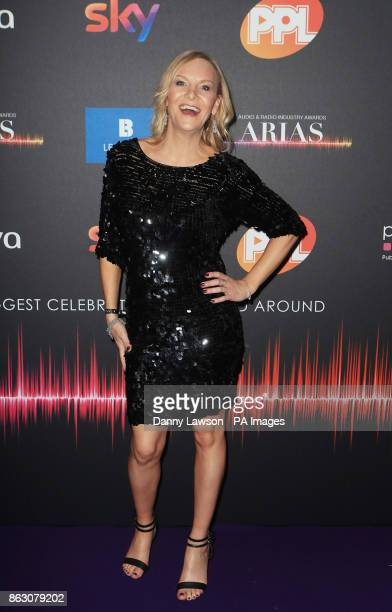 Stephanie Hirst attending the Audio and Radio Industry Awards at the First Direct Arena in Leeds