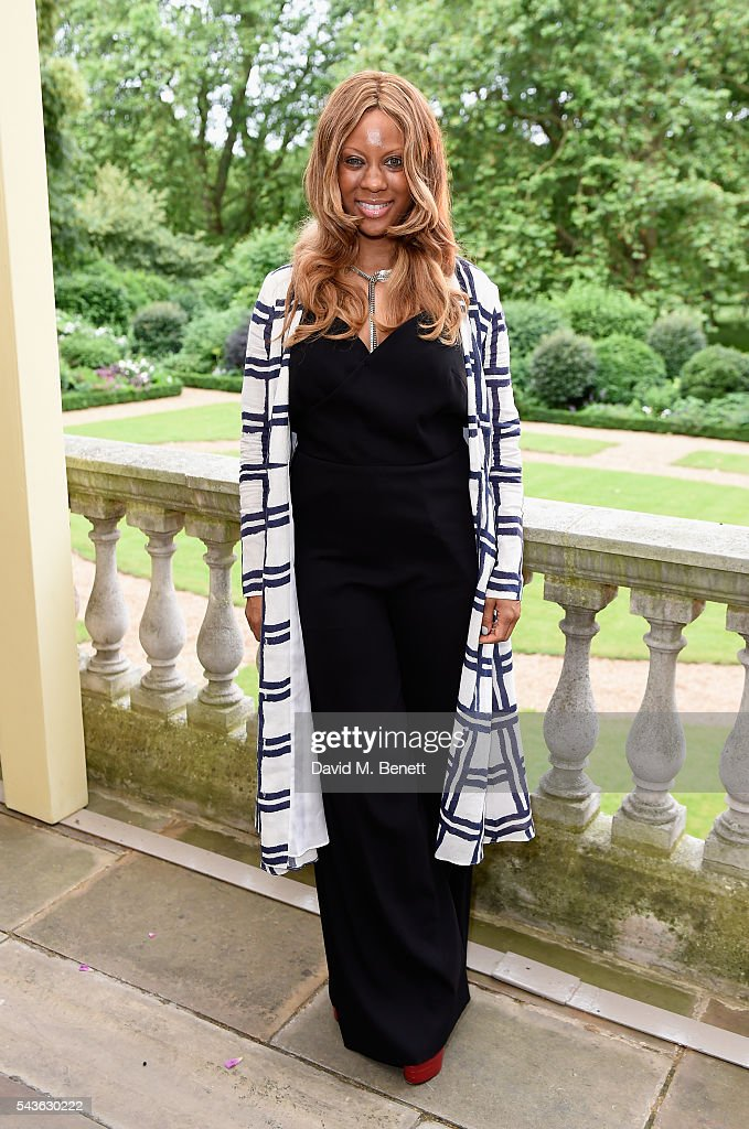 Stephanie Horton attends the Creatures of the Wind Resort 2017 collection and runway show presented by Farfetch at Spencer House on June 29, 2016 in London, England.