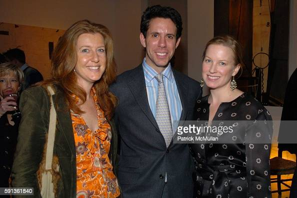 Stephanie Hunt Jim Brodsky and Marie Samuels attend The Chamber Music Society of Lincoln Center Young Patrons Event with Music Art and More at The...