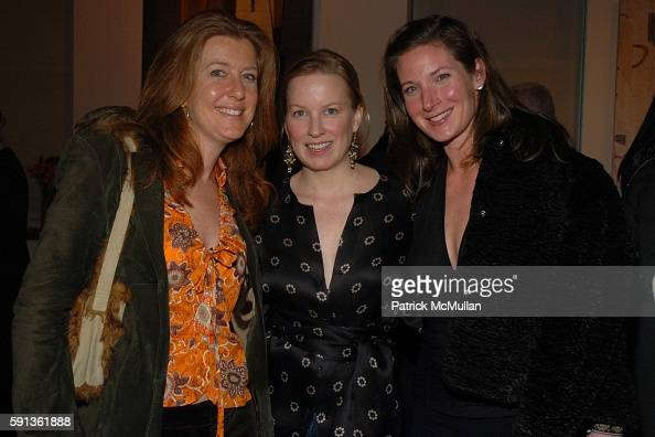 Stephanie Hunt Marie Samuels and Mara Shore attend The Chamber Music Society of Lincoln Center Young Patrons Event with Music Art and More at The...
