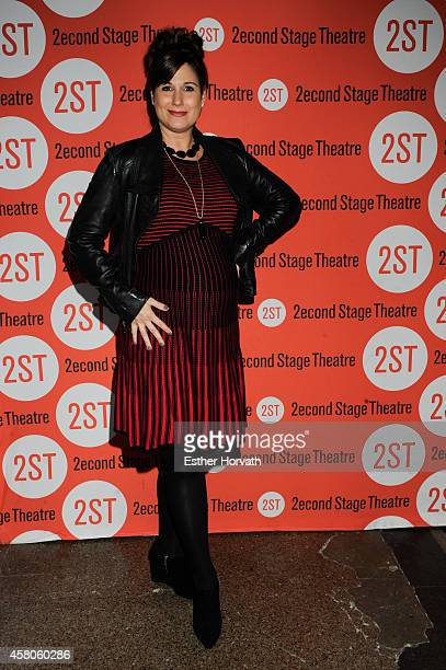 Stephanie J Block attends 'Lips Together Teeth Apart' Opening Night at Second Stage Theatre on October 29 2014 in New York City
