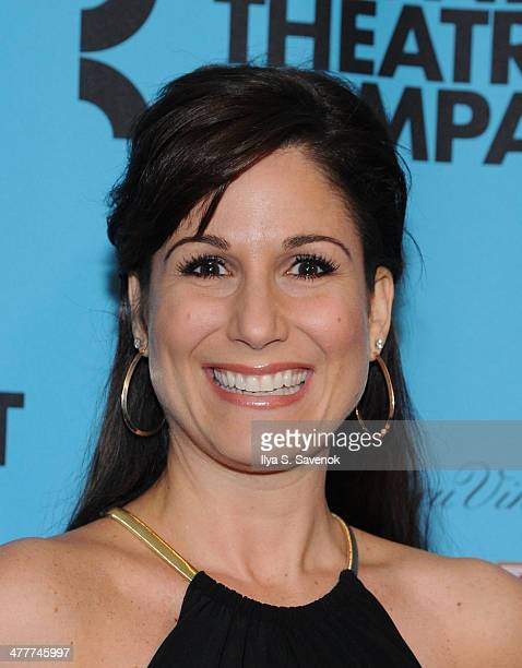 Stephanie J Block attends Roundabout Theatre Company's 2014 Spring Gala at Hammerstein Ballroom on March 10 2014 in New York City
