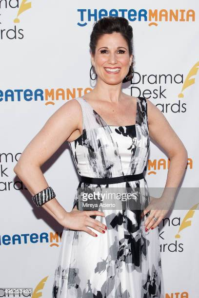 Stephanie J Block attends the 2014 Drama Desk Awards at Town Hall on June 1 2014 in New York City