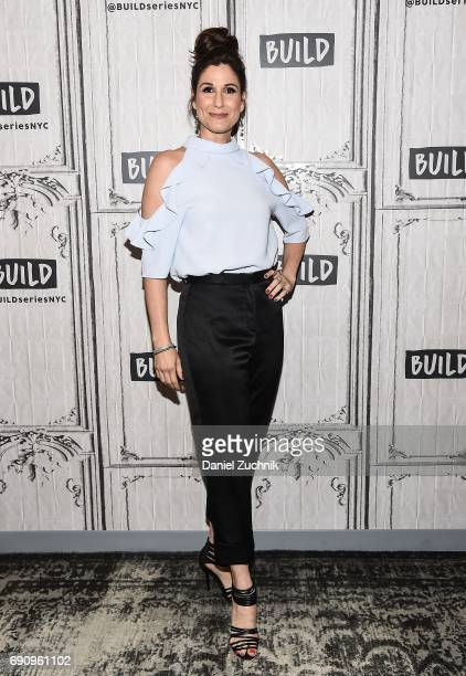 Stephanie J Block attends the Build Series to discuss her broadway show 'Falsettos' at Build Studio on May 31 2017 in New York City