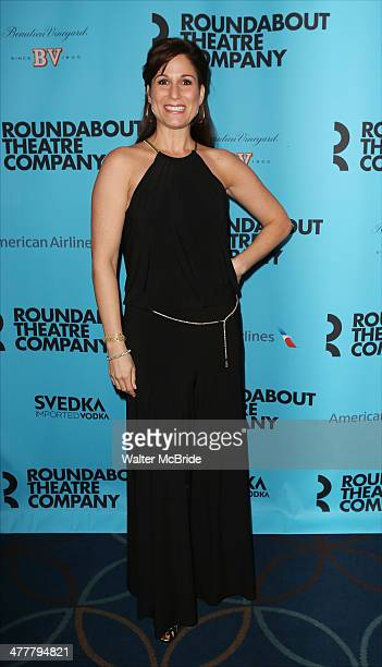 Stephanie J Block attends the Roundabout Theatre Company's 2014 Spring Gala at Hammerstein Ballroom on March 10 2014 in New York City