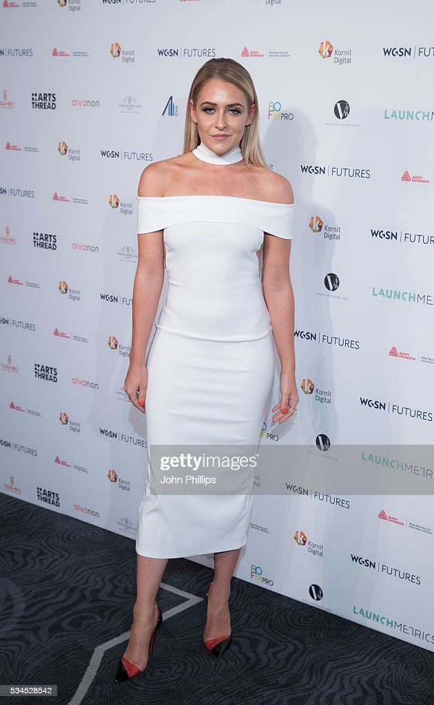 Stephanie Jones arrives for the WGSN Futures Awards 2016 on May 26, 2016 in London, England.