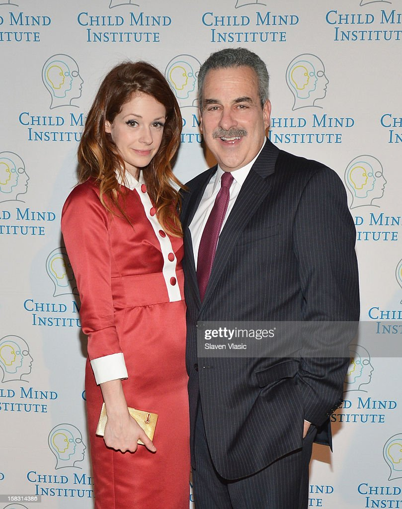 Stephanie LaCava and Dr. Harold Koplewicz attend Child Mind Institute's 3rd Annual Child Advocacy Award Dinner at Cipriani 42nd Street on December 12, 2012 in New York City.