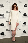Stephanie LaCava attends the Guggenheim International Gala PreParty made possible by Dior on November 5 2014 in New York City
