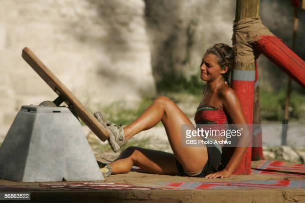 Stephanie LaGrossa of the the Xhakum tribe during the finale episode of SURVIVORGUATEMALA THE MAYA EMPIRE on the CBS Television Network