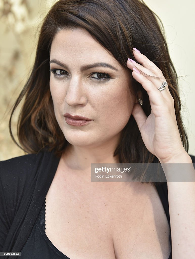 Stephanie Leonard poses for portrait at The Starving Artists Project on September 21, 2016 in Los Angeles, California.