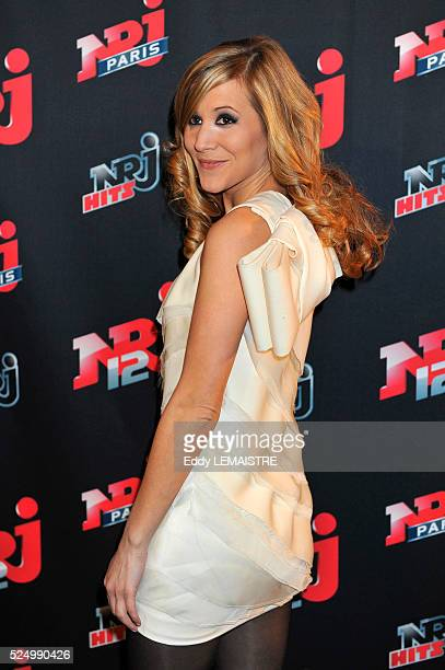 Stephanie Loire attends the 4th anniversary party of NRJ 12 in Paris
