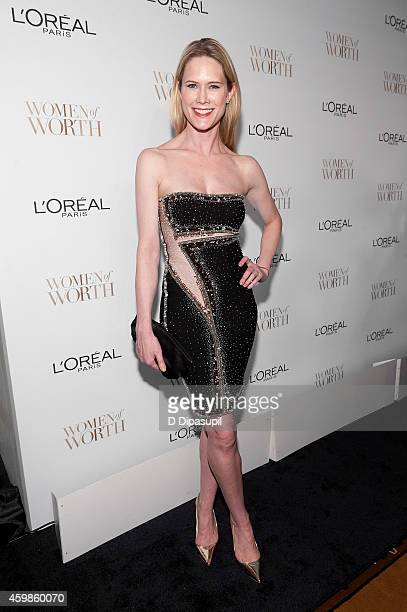 Stephanie March attends L'Oreal Paris' Ninth Annual Women of Worth Awards at The Pierre Hotel on December 2 2014 in New York City