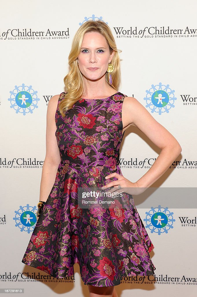 Stephanie March attends the 16th annual World Of Children awards at 583 Park Avenue on November 7, 2013 in New York City.