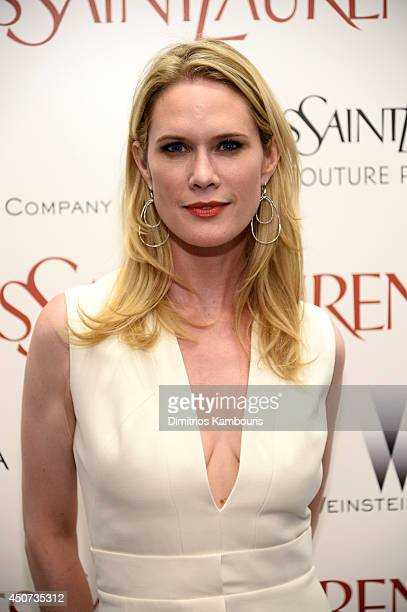 Stephanie March attends The Weinstein Company's 'Yves Saint Laurent' premiere hosted by Yves Saint Laurent Couture Palette The Cinema Society at...