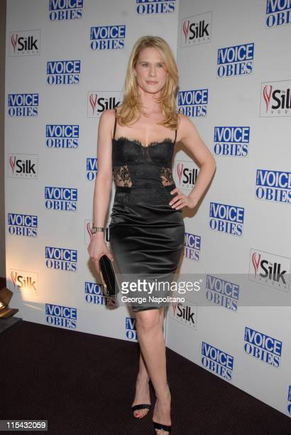 Stephanie March during 52nd Annual Village Voice Obie Awards at Jack H Skirball Center for the Performing Arts in New York City New York United States