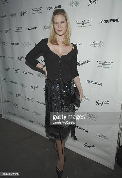 Stephanie March during Food Wine Magazine Hosts The 2006 'Best New Chefs' Awards Ceremony and Party at The Battery Maritime Building in New York City...