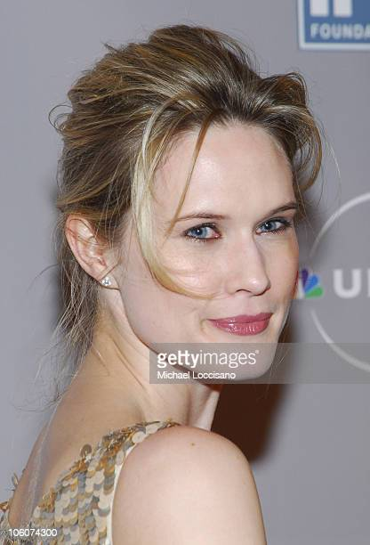 Stephanie March during IRTS Foundation Gold Medal Award Dinner Honoring NBC's CEO Jeff Zucker at The Waldorf Astoria in New York City United States