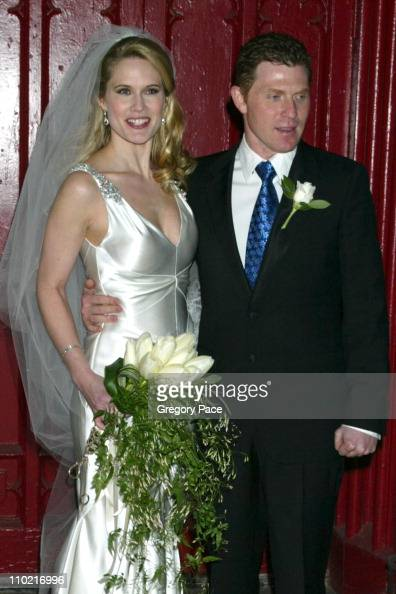 Bobby Flay Weds Stephanie March in New York City ... Bobby Flay And Stephanie March Wedding