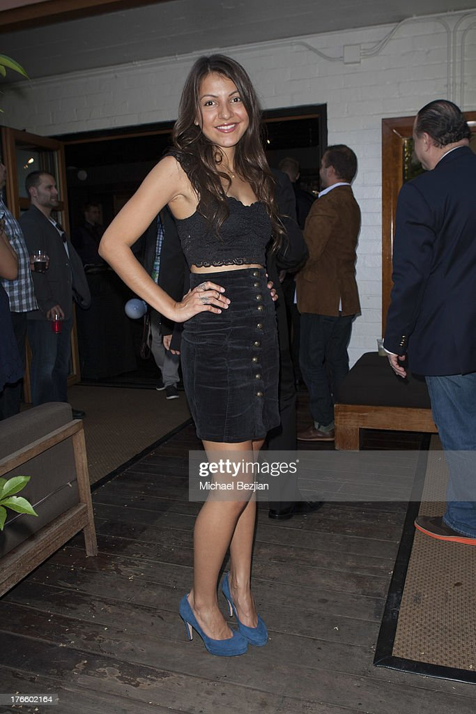 Stephanie Matson attends 9th Annual HollyShorts Film Festival - Private Pre-Reception at Hollywood Roosevelt Hotel on August 15, 2013 in Hollywood, California.