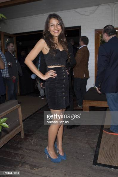 Stephanie Matson attends 9th Annual HollyShorts Film Festival Private PreReception at Hollywood Roosevelt Hotel on August 15 2013 in Hollywood...