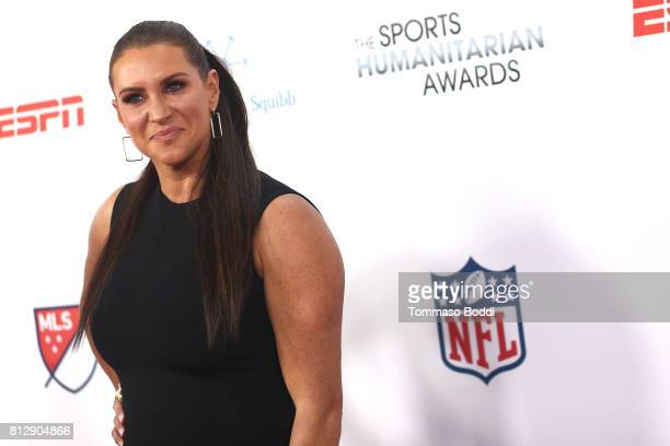 Stephanie McMahon attends the 3rd Annual Sports Humanitarian Of The Year Awards at The Novo by Microsoft on July 11 2017 in Los Angeles California