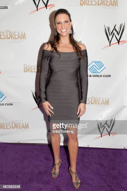 Stephanie McMahon attends WWE's 2014 SuperStars For Kids at the New Orleans Museum of Art on April 3 2014 in New Orleans City