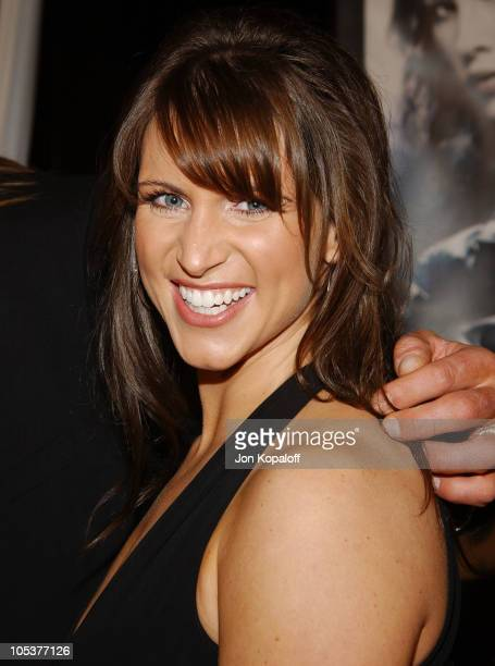 Stephanie McMahon during 'Blade Trinity' Los Angeles Premiere Red Carpet at Grauman's Chinese Theater in Hollywood California United States