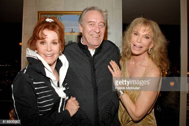 Stephanie Powers David Niven and Ann Turkle attend Mayor Antonio Villaraigosa celebrates Nikki Haskell's Birthday at Sierra Towers on May 17th 2010...