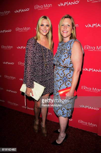Stephanie Pratt and Marjorie Gubelman attend Vapiano hosts the New York Premiere of THE EXTRA MAN red carpet arrivals and afterparty at Village East...