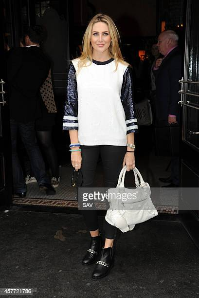 Stephanie Pratt arrives at the Lipsy fragrance launch on October 23 2014 in London England