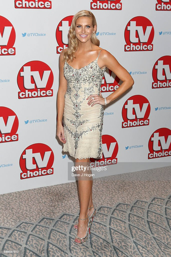 Stephanie Pratt arrives for the TVChoice Awards at The Dorchester on September 5, 2016 in London, England.