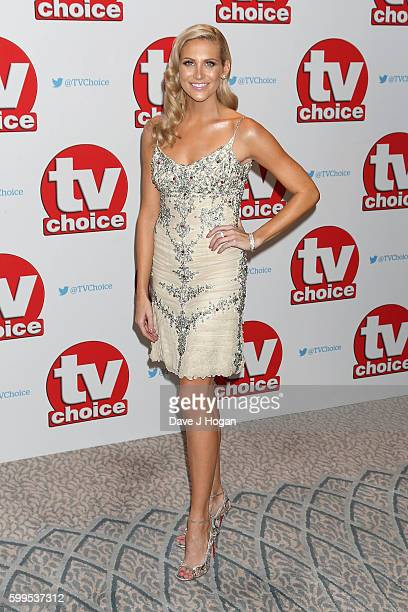 Stephanie Pratt arrives for the TVChoice Awards at The Dorchester on September 5 2016 in London England