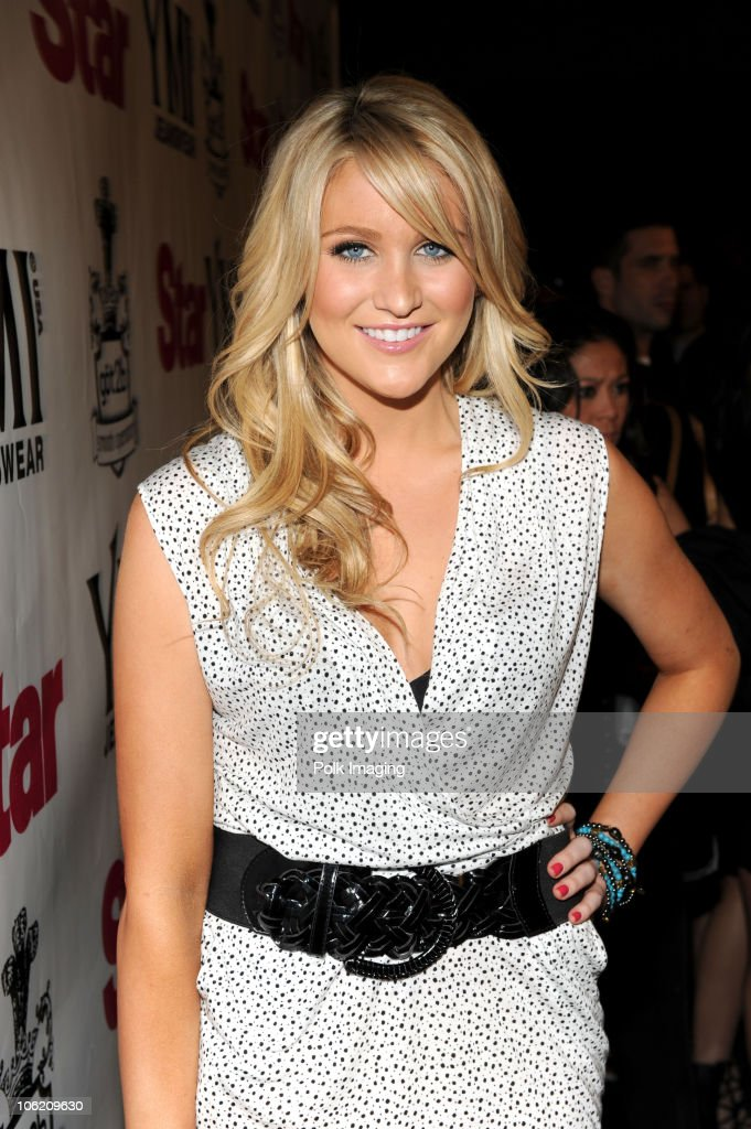 Stephanie Pratt arrives to the Star Magazine Celebration of the Young Hollywood Issue at Apple Lounge in West Hollywood, CA on March 11, 2009.