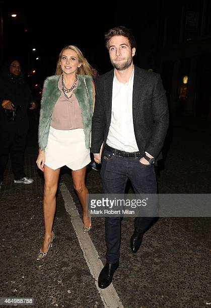 Stephanie Pratt attending The Sun Bizarre Party at Steam and Rye on March 2 2015 in London England