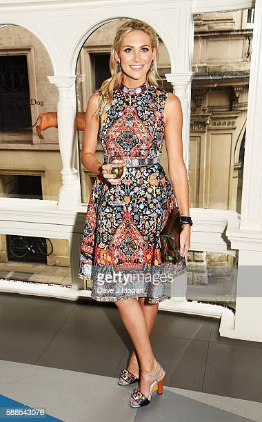 Stephanie Pratt attends a special screening of 'War Dogs' at Picturehouse Central on August 11 2016 in London England