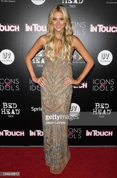 Stephanie Pratt attends In Touch Weekly's 'Icons Idols' annual celebration at Chateau Marmont's Bar Marmont on September 12 2010 in Hollywood...