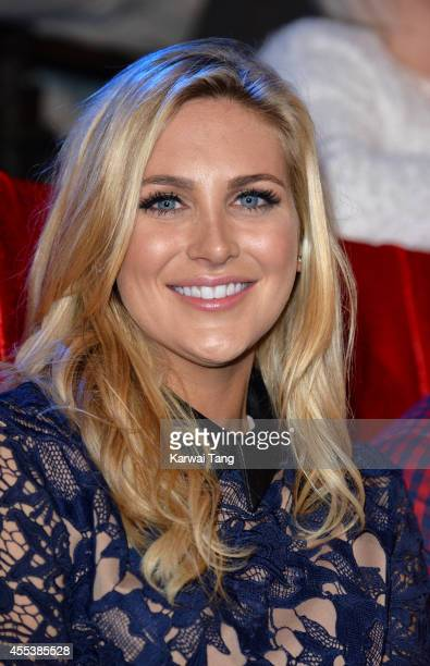 Stephanie Pratt attends the Celebrity Big Brother final at Elstree Studios on September 12 2014 in Borehamwood England