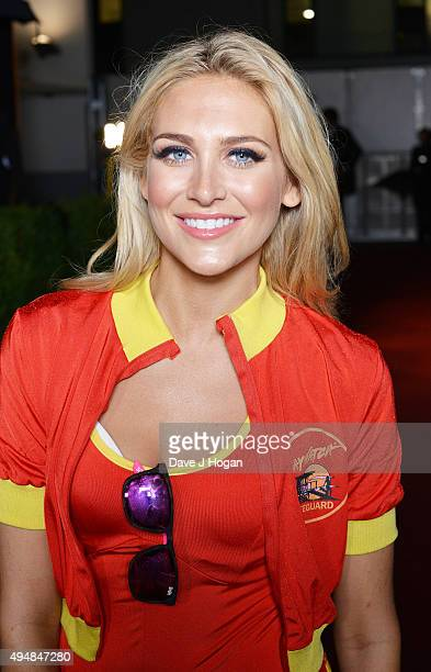 Stephanie Pratt attends the KISS FM Haunted House Party at SSE Arena on October 29 2015 in London England
