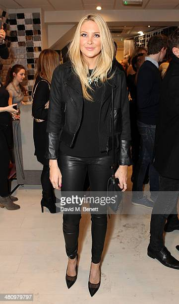 Stephanie Pratt attends the opening of the new Freddy store on King's Road on March 27 2014 in London England