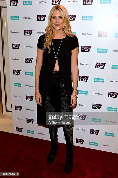 Stephanie Pratt attends the Vlog Star launch party at The Ivy on September 2 2015 in London England