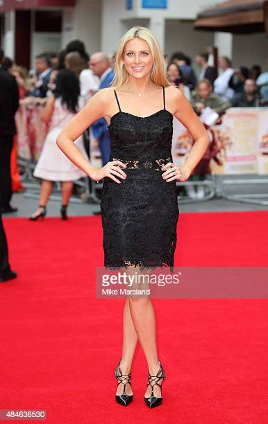 Stephanie Pratt attends the World Premiere of 'The Bad Education Movie' at Vue West End on August 20 2015 in London England