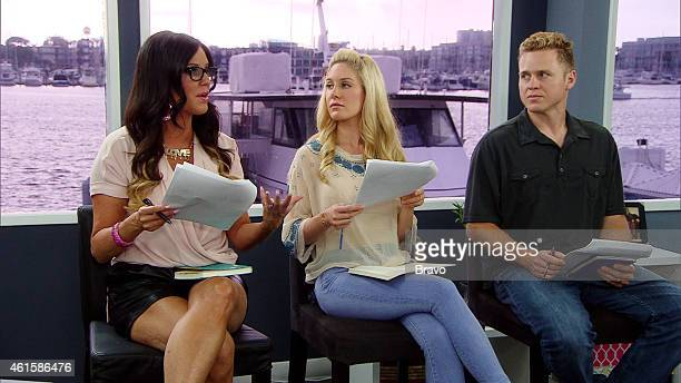 MATCHMAKER 'Stephanie Pratt Spencer Pratt Heidi Montag Kari Whitman' Episode 805 Pictured Patti Stanger Heidi Montag Spencer Pratt