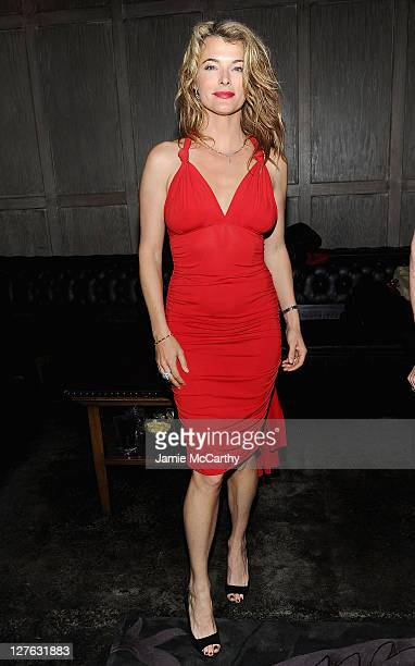 Stephanie Romanov attends the after party for the Tribeca Film Festival and Cinema Society premiere of 'Last Night' at Avenue on April 25 2011 in New...